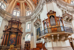 Cathedral at Salzburg Austria Royalty Free Stock Image