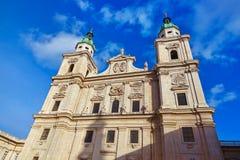 Cathedral in Salzburg Austria stock photos