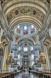The Cathedral of Salzburg Royalty Free Stock Photos
