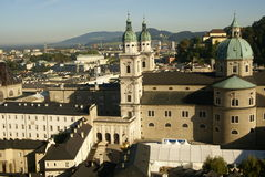 Cathedral of salzburg - old town Stock Photo