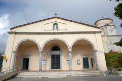 Cathedral of san Biagio at Maratea, Italy Stock Image