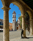 Cathedral San Cristobal Royalty Free Stock Images