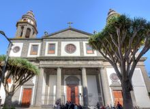 Cathedral of San Cristobal de La Laguna, Tenerife, Canary islands, Spain royalty free stock photography