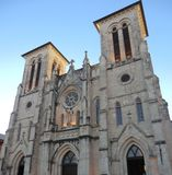Cathedral Of San Fernando in San Antonio. Texas Royalty Free Stock Photos