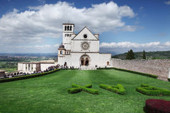 Cathedral of San Francesco d'Assisi Royalty Free Stock Image