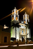 Cathedral of San Gervasio in Valladolid, Mexico Royalty Free Stock Photo