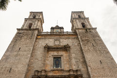 Cathedral of San Gervasio, Valladolid, Yucatan, Mexico Stock Images