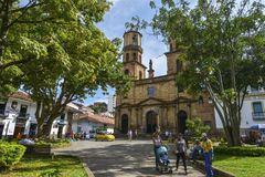 Cathedral of San Gil, Colombia. Royalty Free Stock Photography