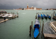 Cathedral of San Giorgio Maggiore in Venice Royalty Free Stock Images
