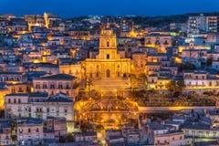 Cathedral of San Giorgio, Modica Royalty Free Stock Photo
