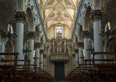 Cathedral of San Giovanni Battista in Ragusa. Sicily, Italy. Stock Photo