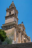 Cathedral of San Giovanni Battista in Ragusa. Sicily, Italy. Royalty Free Stock Image