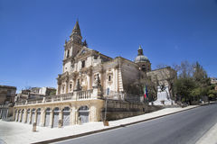 Cathedral of San Giovanni in Ragusa Royalty Free Stock Photo