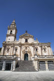 Cathedral of San Giovanni in Ragusa Royalty Free Stock Photography
