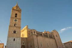Cathedral of San Giustino in Chieti Stock Images