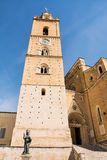 Cathedral of San Giustino in Chieti Royalty Free Stock Photo