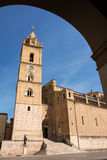 Cathedral of San Giustino in Chieti Stock Photo