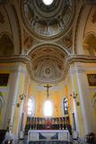 Cathedral of San Juan Bautista, San Juan, Puerto Rico. Interior of Cathedral of San Juan Bautista is a Roman Catholic cathedral in Old San Juan, Puerto Rico Stock Photo