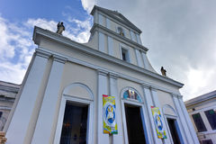 Cathedral of San Juan Bautista - San Juan, Puerto Rico Stock Photography
