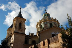 Cathedral San Juan De Dios. Granada, Spain Royalty Free Stock Photo