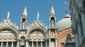 Cathedral of San Marco Stock Image