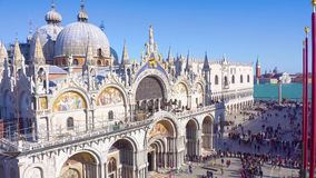 Cathedral of San Marco, Venice stock video footage