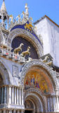 Cathedral of San Marco,Venice, Italy. Fragment royalty free stock image