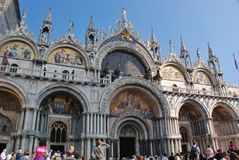 Cathedral San Marco in Venice Royalty Free Stock Image