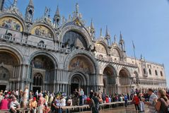 Cathedral San Marco in Venice Stock Image