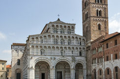 Cathedral of San Martino in Lucca, Italy Royalty Free Stock Images