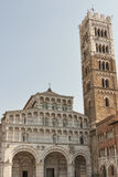 Cathedral of San Martino in Lucca, Italy Royalty Free Stock Image