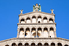 Cathedral San Michele. Lucca, Stock Image