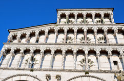 Cathedral San Michele. Lucca, Royalty Free Stock Photos