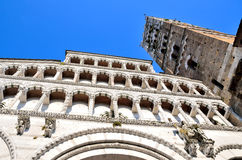 Cathedral San Michele. Lucca, Royalty Free Stock Photo