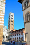 Cathedral San Michele. Lucca, Royalty Free Stock Photography