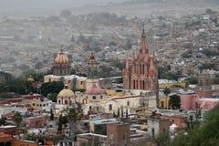 Cathedral in San Miguel de Allende, Mexico Royalty Free Stock Photos