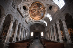 Cathedral San Pietro in Vincoli, Rome, Italy royalty free stock photo