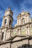 Cathedral in San Salvador de Jujuy, Argentina. royalty free stock photography