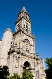 Cathedral of San Salvador - Jerez de la Frontera - Spain royalty free stock image