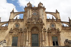 The Cathedral of San Salvador in Jerez de la Frontera, Spain Royalty Free Stock Photos