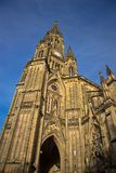 The Cathedral  in San Sebastian Royalty Free Stock Photos