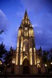 Cathedral in San Sebastian, Spain Stock Image