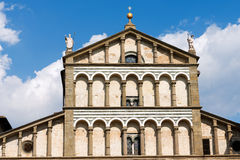 Cathedral of San Zeno - Pistoia Italy Royalty Free Stock Photo