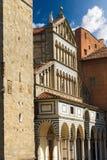 Cathedral of San Zeno - Pistoia Italy Stock Photos