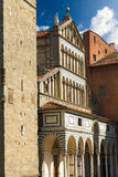 Cathedral of San Zeno - Pistoia Italy Stock Photos
