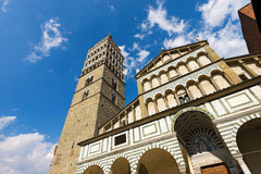 Cathedral of San Zeno - Pistoia Italy Royalty Free Stock Photography