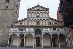 The Cathedral of San Zeno. Pistoia. Tuscany. Italy. Royalty Free Stock Photo
