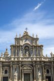 Cathedral of Santa Agata in Catania Royalty Free Stock Photo