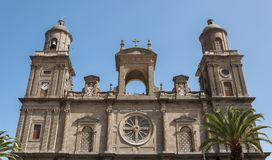 Cathedral of Santa Ana Stock Photography