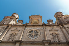 Cathedral of Santa Ana. Las Palmas de Gran Canaria. The Canary Islands. Spain stock images